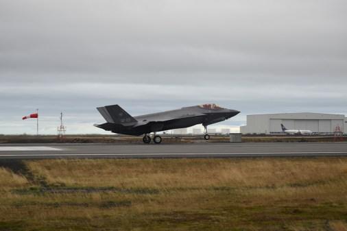 Iceland Northern Lightning ItAF F-35A