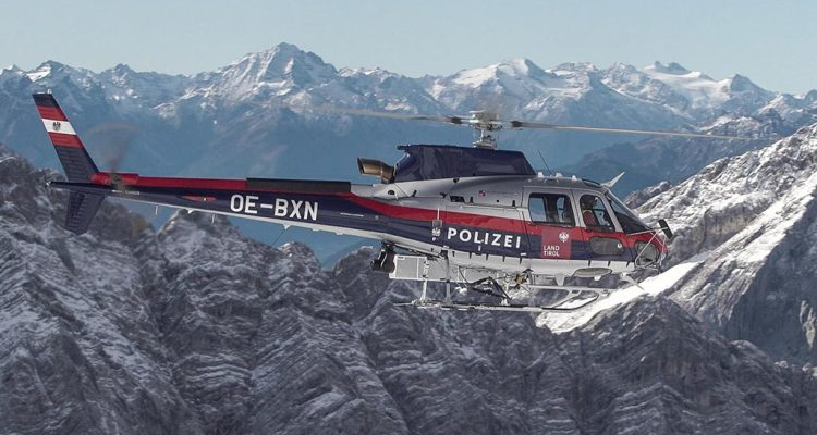 Airbus H125 Polizei Federal Ministry of the Interior Austria