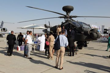 Helicopter Static Display Dubai Airshow