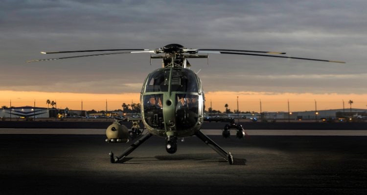 MD 530G Block II Scout Attack Helicopter