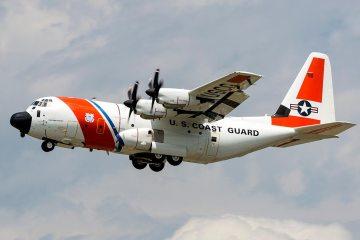 USCG HC130J Hercules