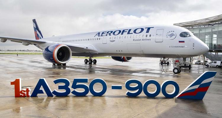 First A350-900 for Aeroflot