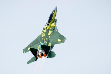 F-15QA First Flight