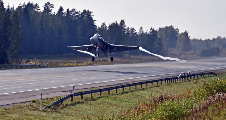 finland exercise baana 20 F-18 Hornet