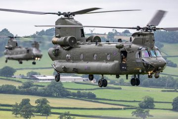 Royal Air Foce CH-47 Chinook