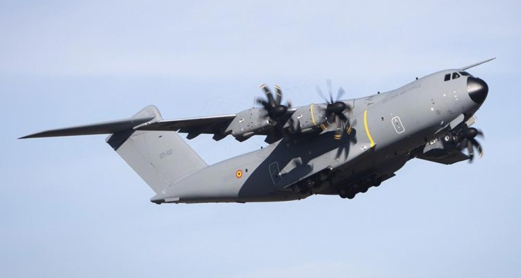 Airbus A400M MSN106 Belgian Air Component