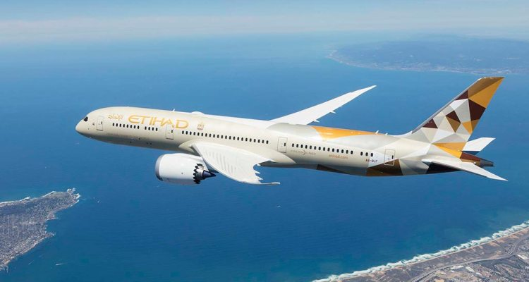 B787 Etihad Airways