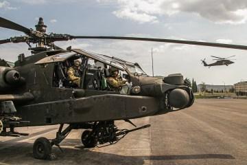 US Army AH-64D Apache Longbow
