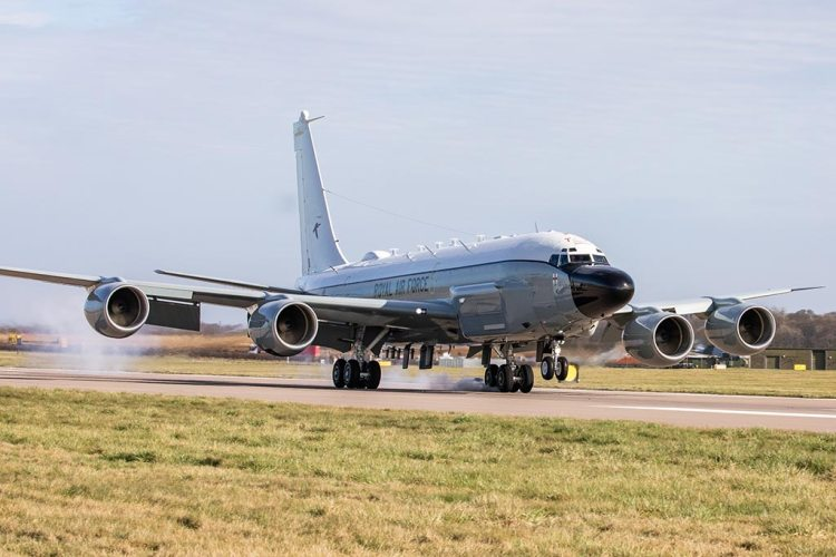 Royal Air Force RC-135W Rivet Joint