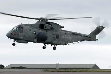 Royal Navy Merlin Crowsnest