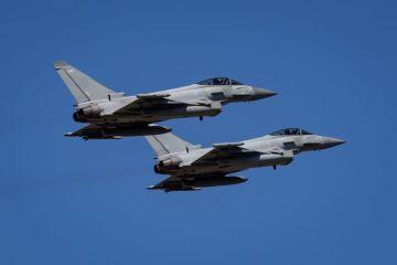 Royal Air Force Typhoons of No. IX(B) in Romania