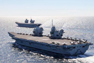 uk aircraft carriers QE