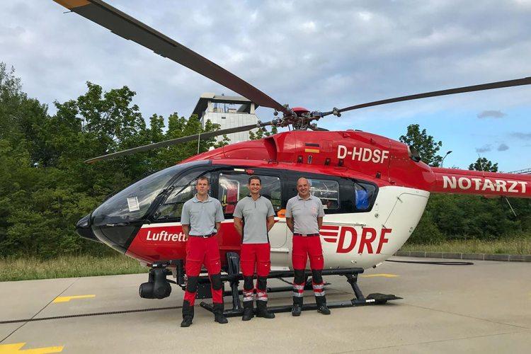 DRF Luftrettung Crew