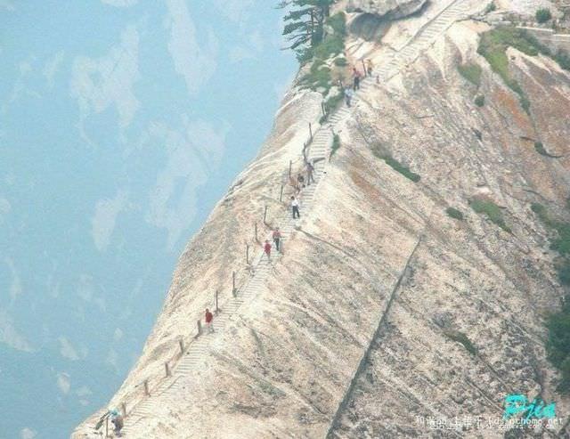 Mt. Huashan dangerous trail