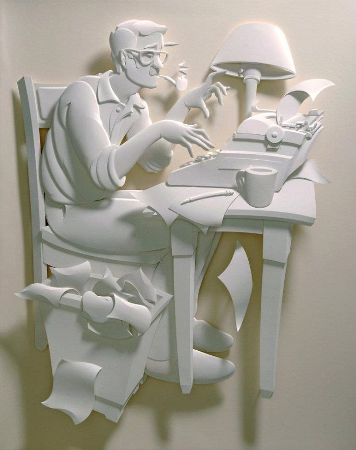 I Can't Believe These Detailed Paper Sculptures Are Handmade