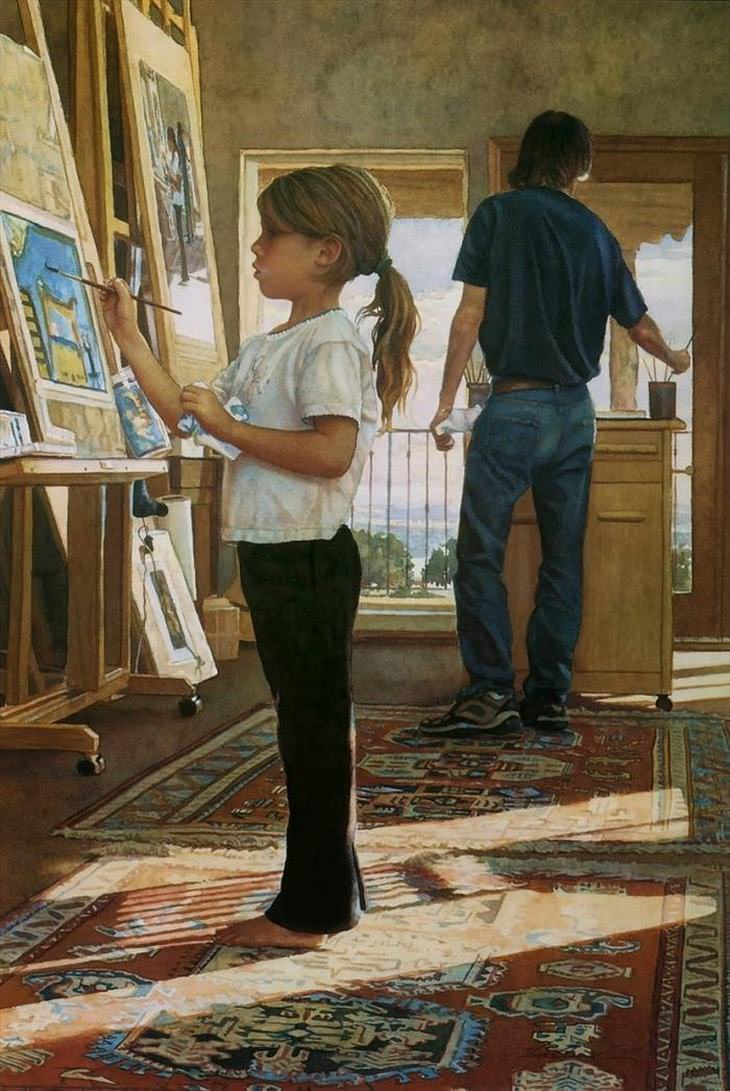 The WaterColor Paintings Of Steve Hanks Art BabaMail