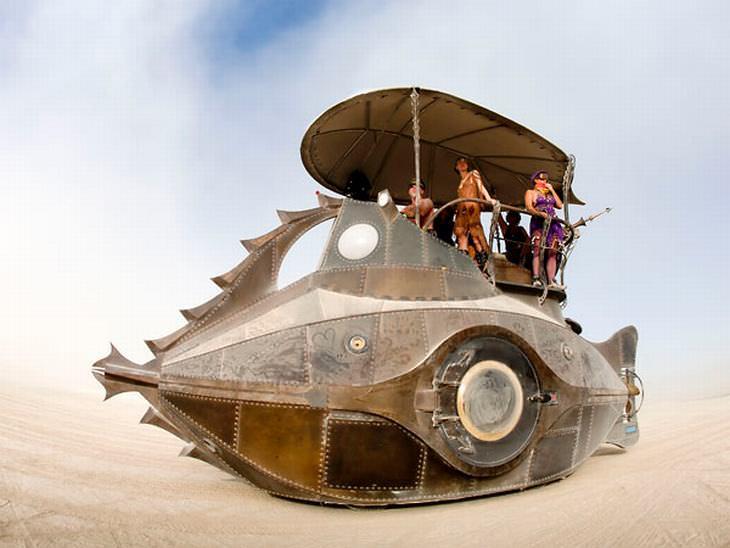Τέχνη Αυτοκίνητα Burning Man
