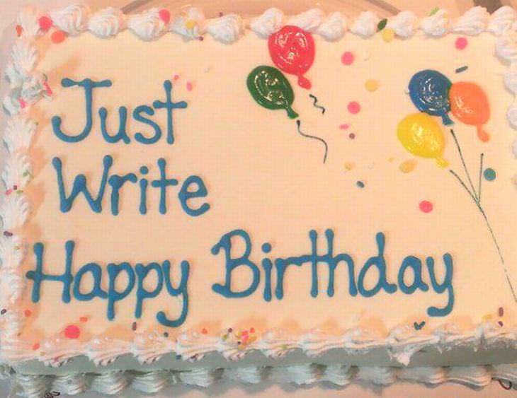 When Cake Decorations Go Wrong