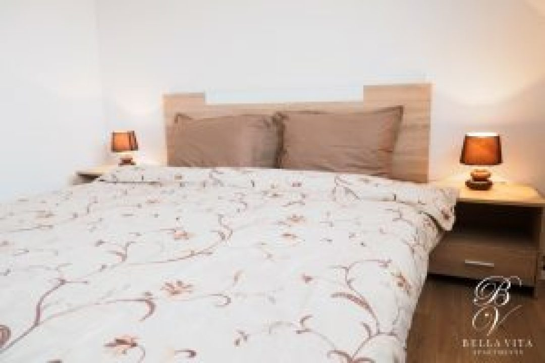 Short Term Apartment for Rent with Comfortable Bed Bella Vita Blagoevgrad Bulgaria
