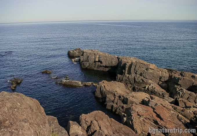 Other formations near the cleft at Cape Agalina, Sozopol, Bulgaria