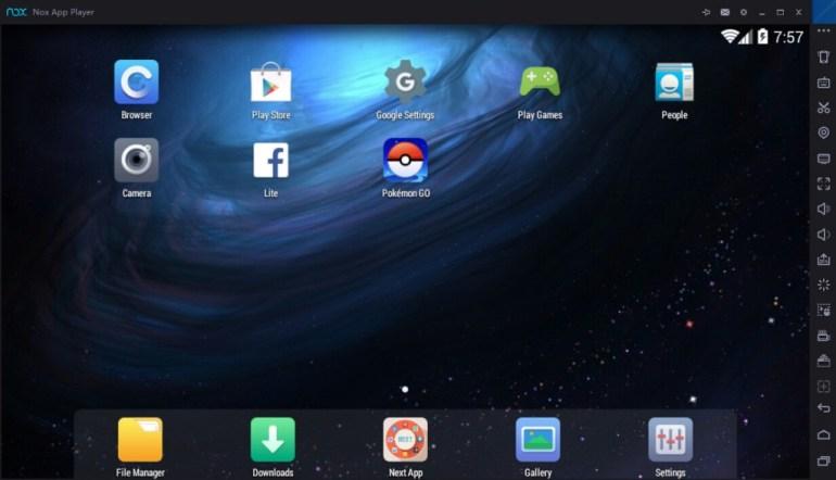 Pokemon GO on Desktop