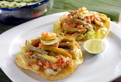 Mexican Vegetarian Tostadas Recipes