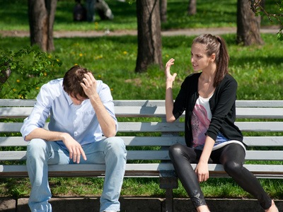 Are you in the middle of a violent relationship?