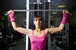 Firm breasts with targeted exercises