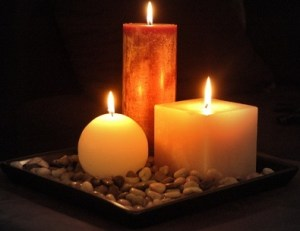 History of candles