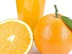 Menu with Orange
