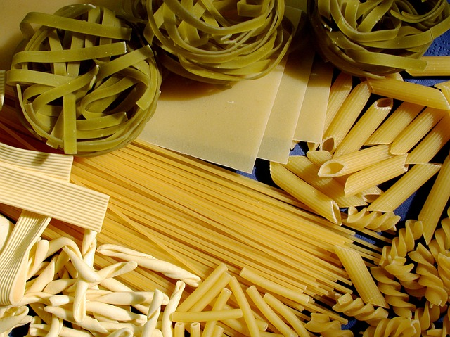 Pasta, low-fat recipes