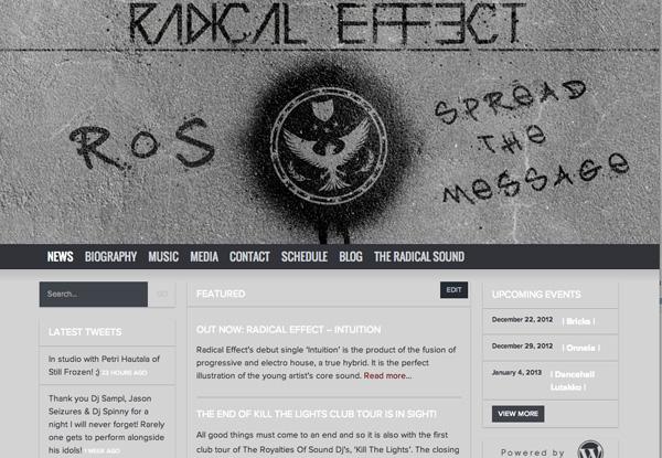 radical effect