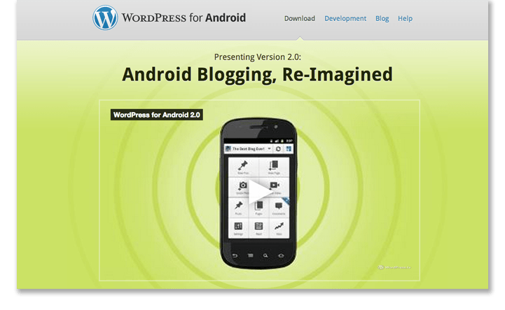 WordPress モバイルアプリ