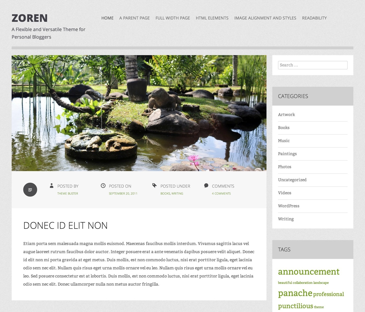 Zoren: Home Page