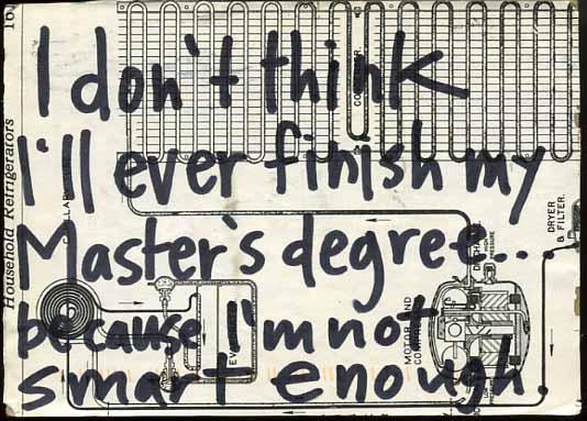 Image via PostSecret, Classic Secrets: November 22, 2013