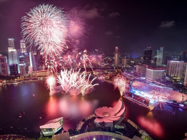 6 Great Spots Where You Can Catch Singapore's National Day Parade Fireworks Display For Free