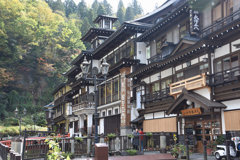 4 Unbelievable Hot Springs in Japan: Ginzan Onsen