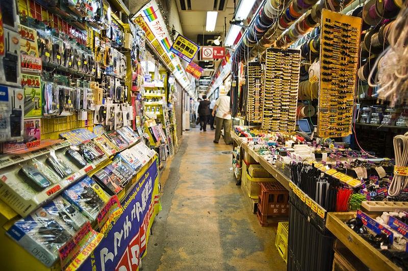 Tokyo, Japan: Akhibara District