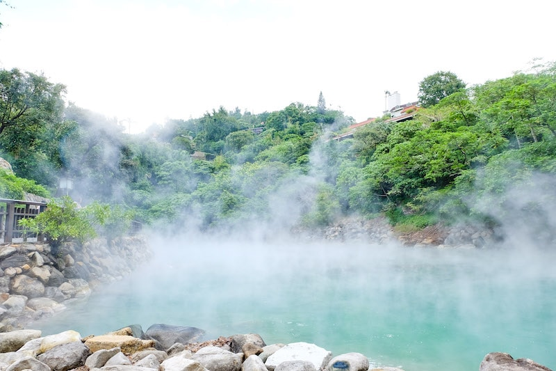 Taipei Train Guide: Beitou Hot Springs at Beitou Station