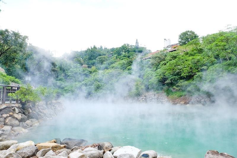Taipei Train Guide: Beitou Hot Springs at Beitou Station