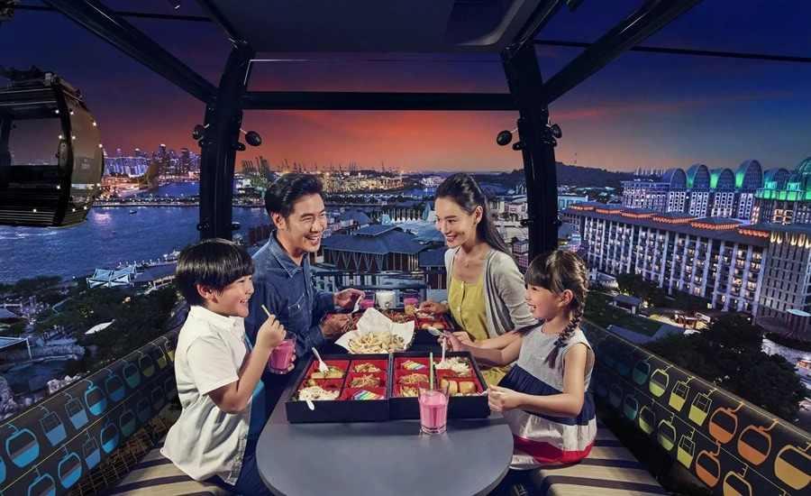 Cable Car Sky Dining Family Reservation