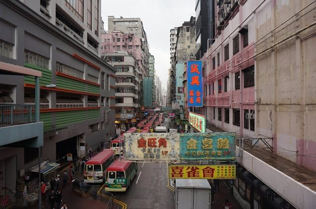 Streets of Hong Kong as shown in HK Dramas
