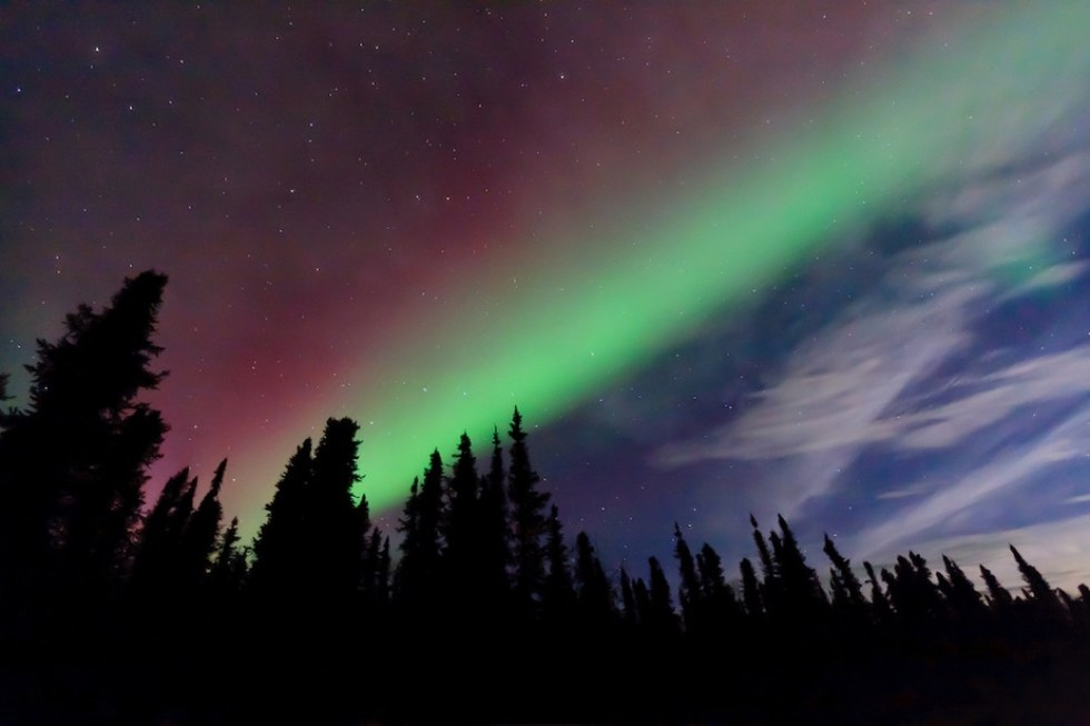 Where to See the Northern Lights: Alaska, United States