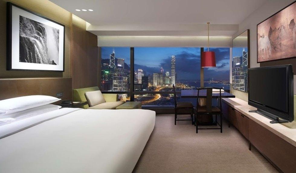 Most Popular Hong Kong Island Hotels: Grand Hyatt Hong Kong