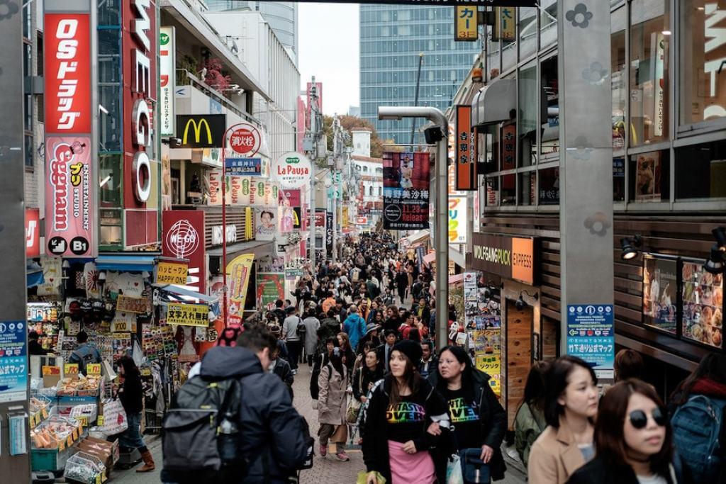 Tokyo, Japan: Harajuku Shopping District