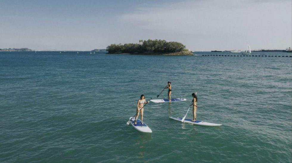 Ola Beach Club Stand Up Paddleboard