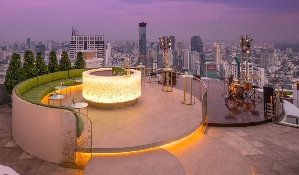 Top Places to Stay in Bangkok for Nightlife: Lebua At State Tower