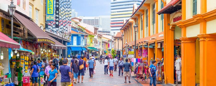 Top Tourist Spots in Singapore: Little India, Singaore