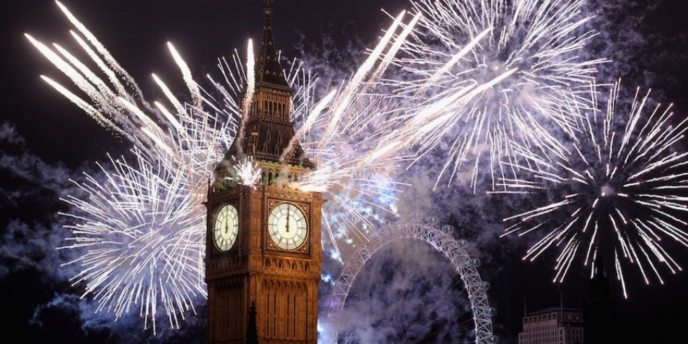 New Year's Eve Family Vacations: London