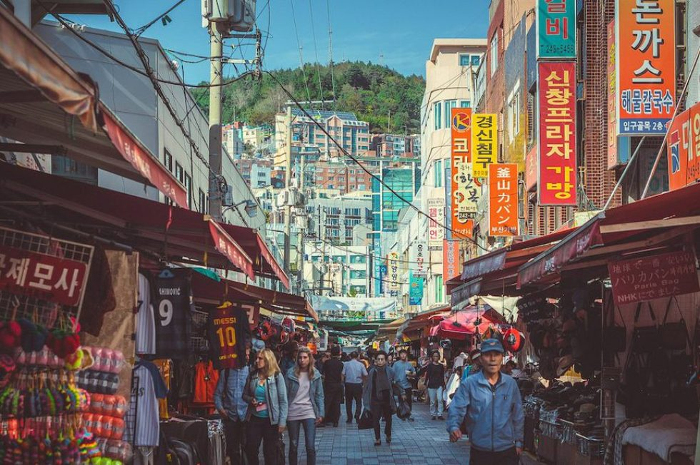 Busan, Korea: Nampo-dong District
